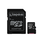 MICRO SDHC KINGSTON 128GB CL.10 + ADATTATORE