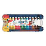 BOX 12 TUBETTI TEMPERA 12ML GIOTTO TUBO 4 ASSORTITO