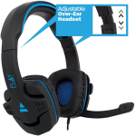 CUFFIE CON MICROFONO EWENT GAMING PLAY PL3320