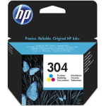 "Cartuccia Ink-Jet Originale HP ""N9K05AE"" n.304 Tricolor"