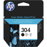 "Cartuccia Ink-Jet Originale HP ""N9K06AE"" n.304 Nera"